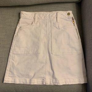 Frame Denim Mini Skirt